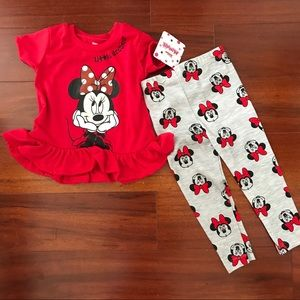 Disney Minnie Mouse Cute Outfit